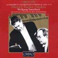 Liderabend Salzburg Festival 1975: F-dieskau(Br)Sawallisch(P)