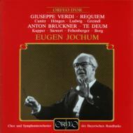 Requiem: Jochum / Bavarian.rso +bruckner: Te Deum