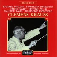 Sinfonia Domestica: Krauss / Bavarian Rso(1953)+haydn: Sym.88, Ravel