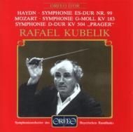 ハイドン:交響曲第99番、モーツァルト:交響曲第25番、第38番『プラハ』 クーベリック&バイエルン放送響(1981〜85年ステレオ・ライヴ)
