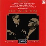 Piano Concerto.4: Fischer / Jochum / Bavarian.rso Live 1951, 52