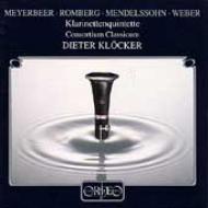 Clarinet Quintets: Klocker / Consortiumクレッカ-/ コンソルティウム・クラシクム