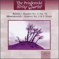 String Quartet, 3, : Penderecki Sq +britten: String Quartet, 3,