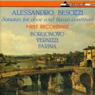 Oboe Sonatas: Borgonovo(Ob)Vernizzi(Fg)Farina(Cemb)