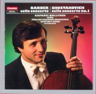 バーバー:チェロ協奏曲 他 R・ウォルフィッシュ(Vn)G・サイモン/イギリス室内O