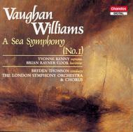V・ウイリアムズ:海の交響曲 B・トムソン/ロンドンSO
