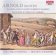 アーノルド:イギリス舞曲第1集 他 B・トムソン/フィルハーモニア