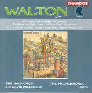 ウォルトン:ロンドン市の栄誉を称えて他 D・ウイルコックス/フィルハーモニア