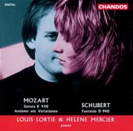 モーツァルト:2台のピアノのためのソナタ 他 L・ロルティ&E・マルシェ(P)