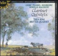 Clarinet Quintets: T.king / Britten.q