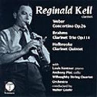 Clarinet Trio, Clarinet Concertino: Kell, Willoughby.sq, Goehr(Cond)