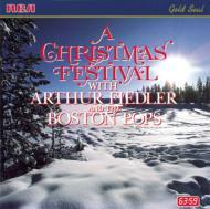 Christmas Festival: Fiedler / Boston Pops.o