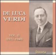 Opera Arias: De Luca Vol.2