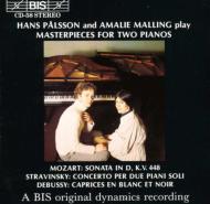Palsson & Malling-mozart, Stravinsky, Debussy