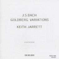 J.S.バッハ:ゴルトベルク変奏曲 BW キース・ジャレット