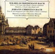 W.f.bach: Trio 1-3