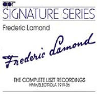 Piano Works Frederic Lamond