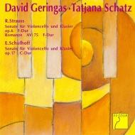 Cello Sonata, Romanze: Geringas(Vc)Schatz(P)+schulhoff: Sonata