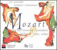 Violin Sonata.32, 33, 35, 36, 40-42: M.seiler(Vn)immerseel(Hf)