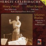 Sym.4: Celibidache / Berlin.rso 1945 +purcell, Roussel