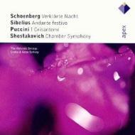 Verklarte Nacht / Chamber Sym.op.110a, Etc: Szilvay / Helsinki Strings