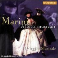 マリーニ:アフェッティ・ムジカーリ Op.1  イル・ヴィアジオ・ムジカーレ