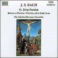 ヨハネ受難曲BWV.245 スコラーズ・バロック・アンサンブル