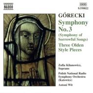 交響曲No.3/3つの古代風小品 キラノヴィツェ/ヴィト/ポーランドNRO