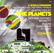 (2 Pianos)the Planets: R.r.bennett Bradshaw(P)