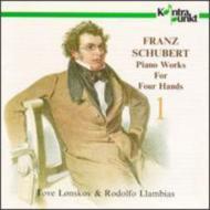 Piano Works For 4 Hands Vol.1: Lonskov, Llambias