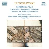 管弦楽曲集Vol.2[交響的変奏曲/他] パレチニー/ヴィト/ポーランド国SO