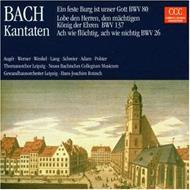 Cantatas.80, 26, 137: Auger, Schreier, Adam