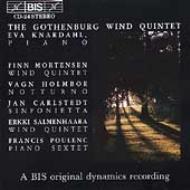 Gothenburg Wind Quintet, Knardahl(P)-mortensen, Holmboe, Etc