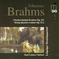 Clarinet Quintet, String Quartet.2: Leister, Leipzig.sq