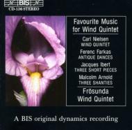 Favourite Wind Quintet: Frosunda Wind.q-nielsen, Ibert, Etc