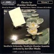 Chamber Orchestra.2: Wedin / Stockholm Sinfonietta, Etc