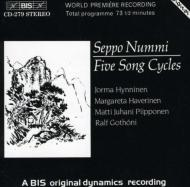 Five Song Cycles: Hynninen(Br), Etc