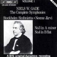 Sym.3, 4: Jarvi / Stockholm Sinfonietta