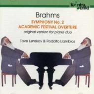 (Piano Duo)sym.2, Academic Festival Overture: Lonskov, Llambias(P)