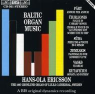 Baltic Organ Music: Ericsson
