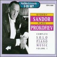Complete Solo Piano Works Vol.1: Sandor
