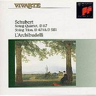 String Quartet.10, Trios.1, 2: L'archibudelli
