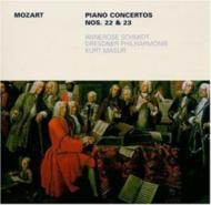 Piano Concerto.22, 23: Annerose Schmidt(P)Masur / Dresden.po