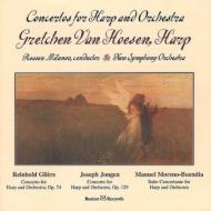 Harp Concerto./ ./ Concerto Suite: Hoesen(Hp)milanov / New.so