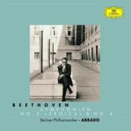 交響曲第3、4番 アバド&ベルリン・フィル ('99、'00)