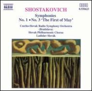 交響曲第1番,3番[メーデー] スロヴァーク/CSR