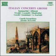[イタリア合奏協奏曲集]アルビノーニ/ヴィヴァルディ クレチェク/カペラ・イストロポリターナ