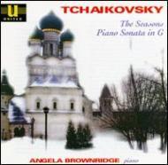 チャイコフスキー:四季、ピアノ・ソナタ ヘウィット(p)