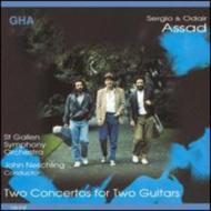 Concerto For 2 Guitars: S & O.assad Neschling / St Gallen So+rodrigo