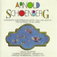 Concerto For String Quartet, String Trio: Lenox Q Farberman / Lso